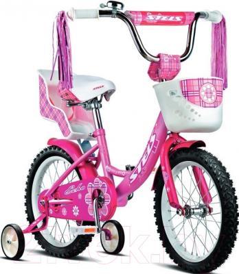 Детский велосипед Stels Echo 2016 (16, розовый)