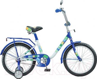 Детский велосипед Stels Flash 2015 (14, синий)