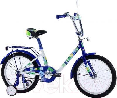 Детский велосипед Stels Flash 2016 (18, синий)