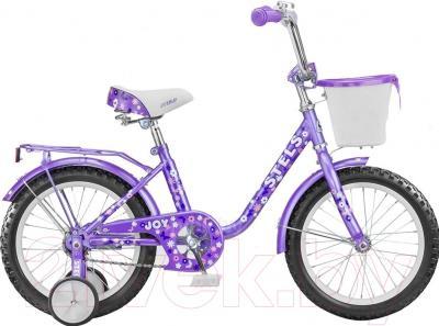 Детский велосипед Stels Joy 2015 (12, фиолетовый)