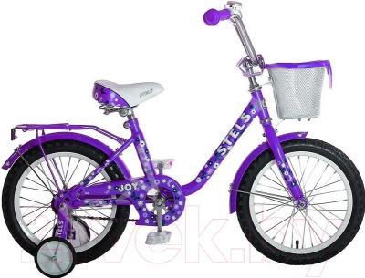 Детский велосипед Stels Joy 2016 (16, фиолетовый)