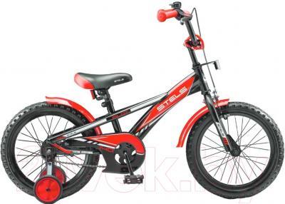 Детский велосипед Stels Pilot 140 2016 (16, красный)