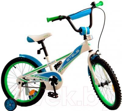 Детский велосипед Stels Pilot 140 2016 (18, синий)