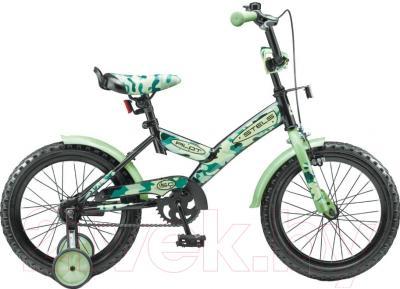 Детский велосипед Stels Pilot 150 2016 (16, зеленый)