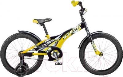Детский велосипед Stels Pilot 170 2016 (16, желтый)
