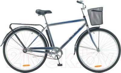 Велосипед Stels Navigator 310 Gent 2016 (серый/синий)