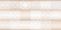 Декоративная плитка для ванной Уралкерамика Фрейя ПО9ФР004 (249x500, белый/коричневый) -