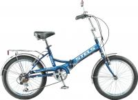 Велосипед Stels Pilot 450 2016 (черный/синий) -