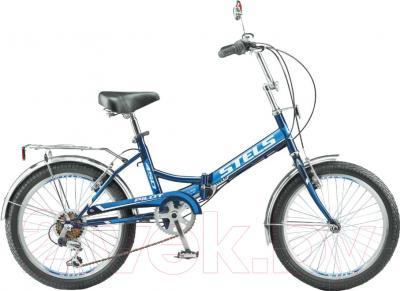 Велосипед Stels Pilot 450 2016 (черный/синий)