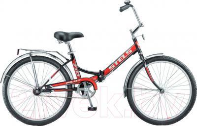 Велосипед Stels Pilot 710 2016 (белый/красный)