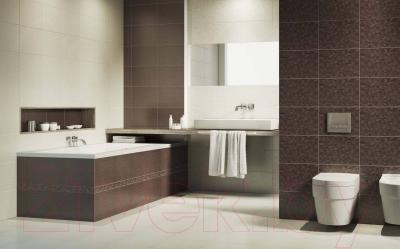 Бордюр для ванной Opoczno Танака (50x250, флауер браун)