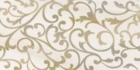 Декоративная плитка для ванной Уралкерамика Ринальди ВС9РД034 (249x500, белый/коричневый) -