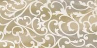 Декоративная плитка для ванной Уралкерамика Ринальди ВС9РД404 (249x500, коричневый/коричневый) -