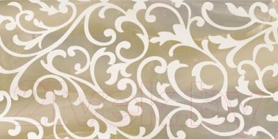 Декоративная плитка Уралкерамика Ринальди ВС9РД404 (249x500, коричневый/коричневый)
