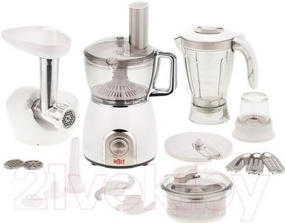 Кухонный комбайн Holt HT-FP-004 (+десертница-мороженица HT-DM-001)