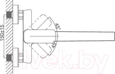 Смеситель DnK DA1433301