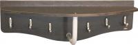 Вешалка для одежды Sheffilton Пилар 1 В2-24-1 (дуб венге/серебро перлато) -