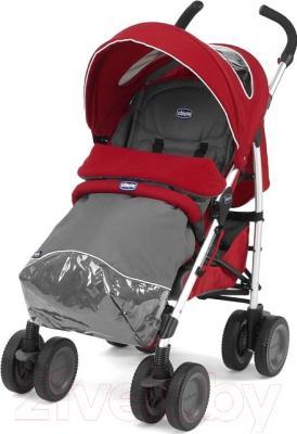 Детская прогулочная коляска Chicco Multiway Evo (красный)
