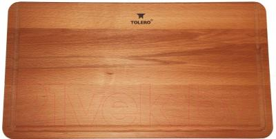 Разделочная доска на мойку Tolero R-107