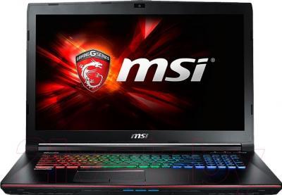 Ноутбук MSI GE72 6QF-012RU Apache Pro