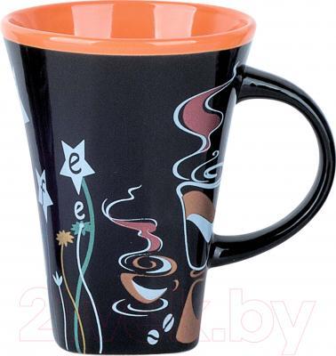 Чашка Bekker BK-8014 (оранжевый)