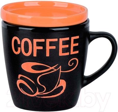 Чашка Bekker BK-8013 (коричневый)