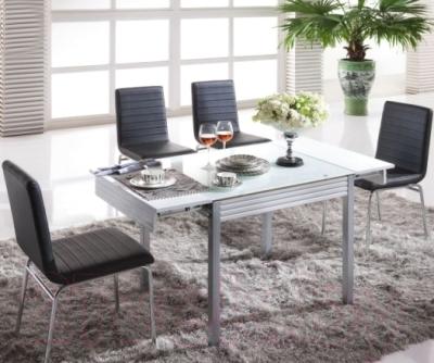 Обеденный стол Мебельные компоненты Topic (белый)