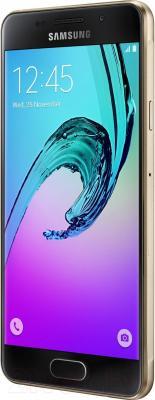 Смартфон Samsung Galaxy A3 2016 / A310F/DS (золото)
