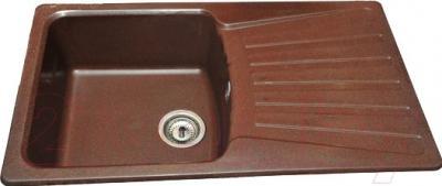 Мойка кухонная Polygran F-12 (коричневый)