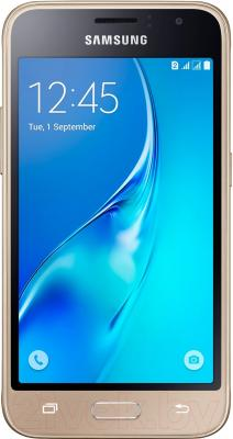 Смартфон Samsung Galaxy J1 2016 / J120F/DS (золото)