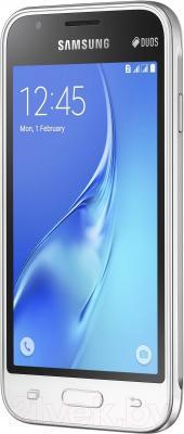 Смартфон Samsung Galaxy J1 mini / J105H/DS (белый)