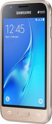 Смартфон Samsung Galaxy J1 mini / J105H/DS (золото)