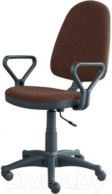 Кресло офисное Posidelkin Престиж Гольф (коричневый)