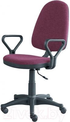 Кресло офисное Posidelkin Престиж Гольф (бордовый)