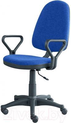 Кресло офисное Posidelkin Престиж Гольф (синий)