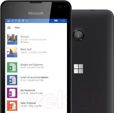 Смартфон Microsoft Lumia 550 (черный)