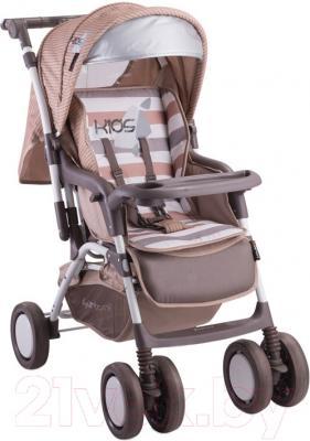 Детская прогулочная коляска Lorelli Combi (Beige Kids)