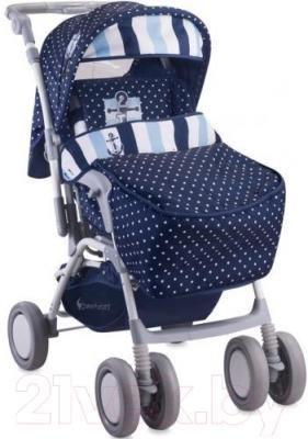 Детская прогулочная коляска Lorelli Combi (Blue Anchor)