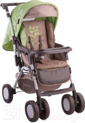 Детская прогулочная коляска Lorelli Combi (Green Beige Zephyr)