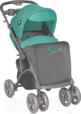 Детская прогулочная коляска Lorelli Apollo (Gray-Green)