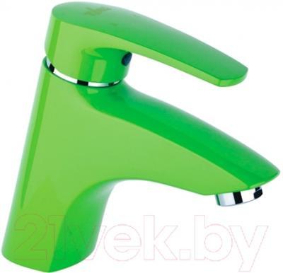 Смеситель Timo Beverly 0051 F (зеленый)