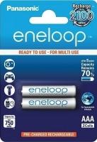 Аккумуляторы AAA Panasonic Eneloop BK-4MCCE 2BP -