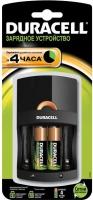 Зарядное устройство для аккумуляторов Duracell CEF14 (+ 2 батарейки) -
