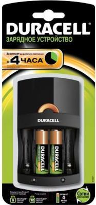 Зарядное устройство для аккумуляторов Duracell CEF14 (+ 2 батарейки)