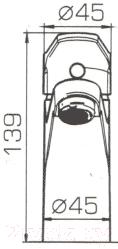 Смеситель Bravat Eco F1111147C