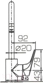 Смеситель Bravat Drop-D F748162C