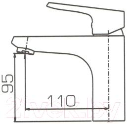Смеситель Bravat Pure F1105161C