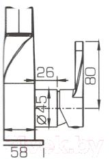 Смеситель Bravat Wave F174108C