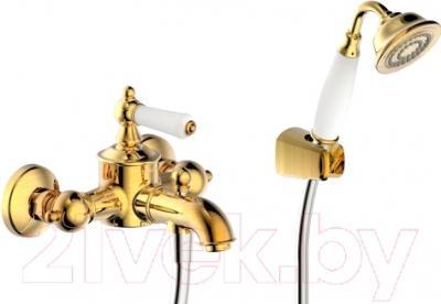 Смеситель Bravat Art F675109C-B (золото)