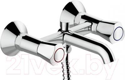 Смеситель Bravat Duo F6133186CP-B
